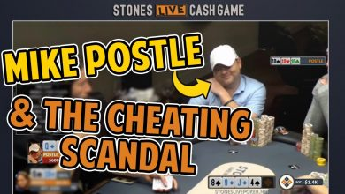 domniemane oszustwo w stones live scandal rocks poker world 1
