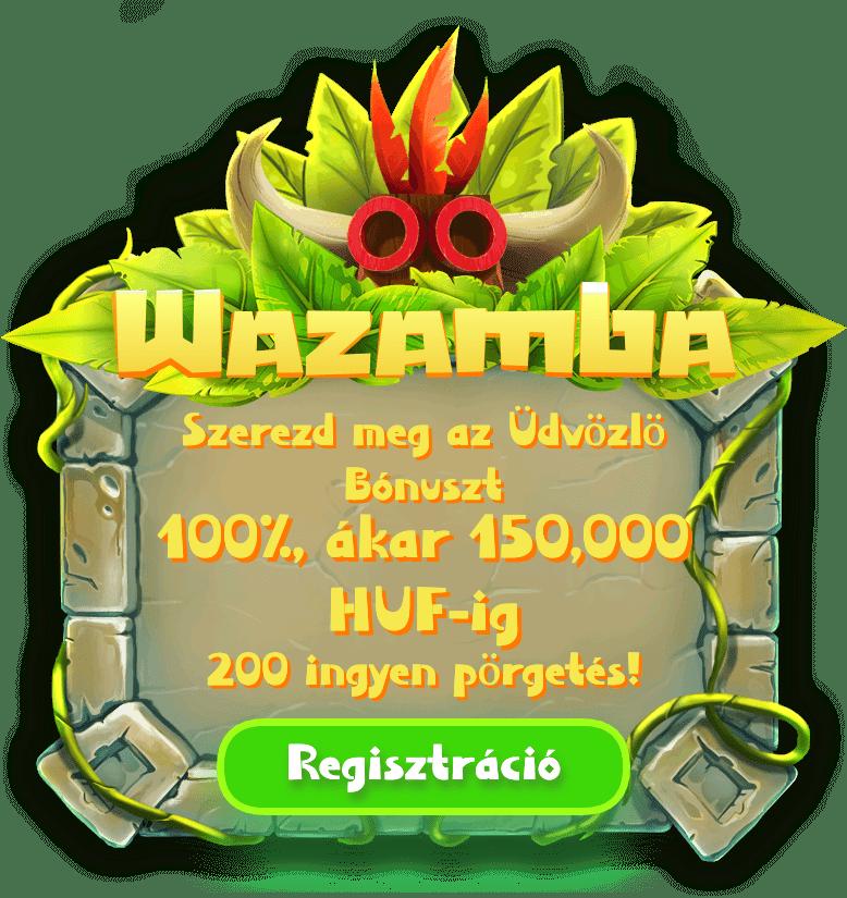 Wazamba Casino HU